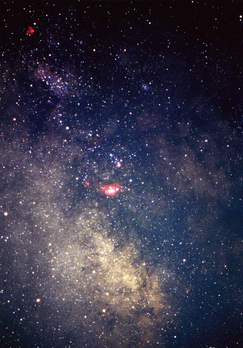 Via Lattea e Costellazione del Sagittario
